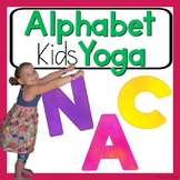 Alphabet Kids Yoga Cards