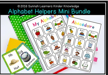 Alphabet Kinder Helpers Mini Bundle