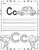 Alphabet Kindergarten Handwriting