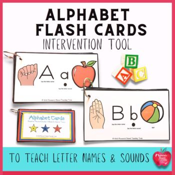 Letter Naming and Sound Fluency: Alphabet Book