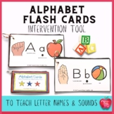 Letter Names and Sounds Intervention