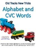 Alphabet Knowledge and CVC Words using Train Tracks- Readi