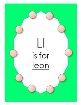 "Alphabet ""L is for Leon"" Spanish hat patterns (5 versions)"