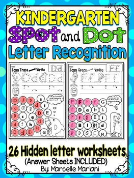 alphabet letter recognition worksheetscolor or dabhidden letters  alphabet letter recognition worksheetscolor or dabhidden letters  kindergarten