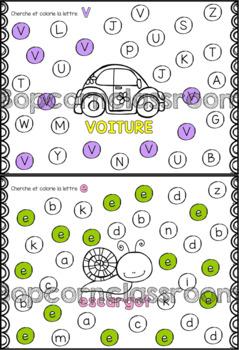 Alphabet - La chasse aux lettres