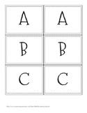 Alphabet Labels - Book Labels