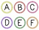 Alphabet Labels - {Perfect for Book Bins for Leveled Library or Word Wall!}