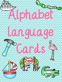 Alphabet Language Cards