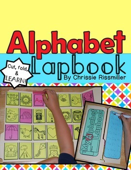 Alphabet Lapbook Interactive Kit