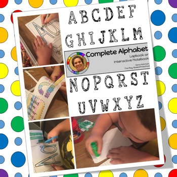 Alphabet Lapbooks and Interactive Notebooks - all 26 letters