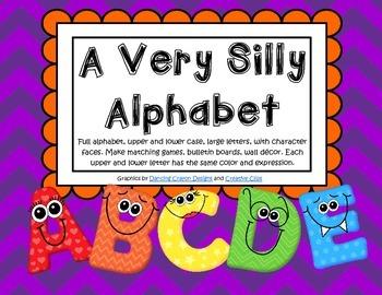 Alphabet Large Upper & Lower Case Cards - Make Games, Bull
