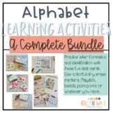 Alphabet Learning Activities : Complete Bundle