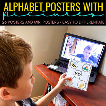 Alphabet Learning Map Posters
