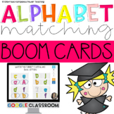 Alphabet Learning and Matching Activities-Boom Cards-Dista