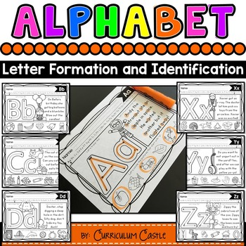 Alphabet: Trace & Find Letters A-Z!