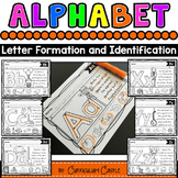 Alphabet: Trace & Find Letters A-Z