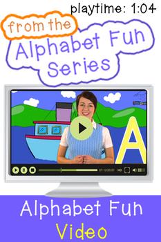 Alphabet Letter A - 3 Videos and 4 Printouts!