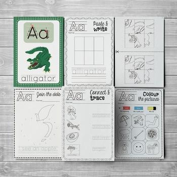 Alphabet Letter A Pack