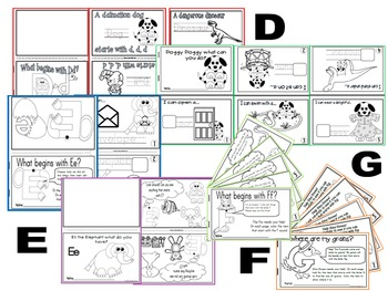 Alphabet Letter Activity Booklets (54 Alphabet BookS)
