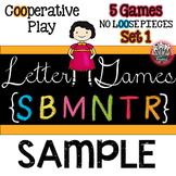 Letter Recognition : Alphabet Letter Activity Games  FREE