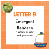 Alphabet Letter B Emergent Reader Set