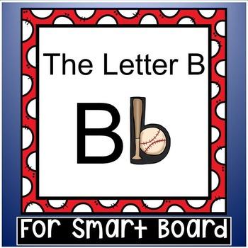 Alphabet -- Letter B SMARTboard Activities (Smart Board)
