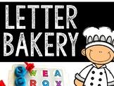 Alphabet Letter Bakery