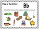 Alphabet Letter Bb Interactive Power Point. Kindergarten