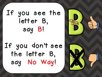 Alphabet Letter Bb PowerPoint Presentation- Letter ID, Sounds, and Handwriting