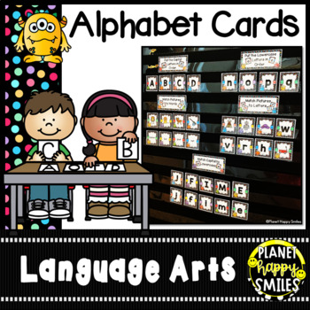 Alphabet Letter & Beginning Sound Picture Matching ~ Monsters
