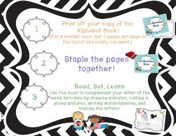 Alphabet Letter Book