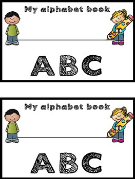 Alphabet Letter Book for Circle Maps for kids