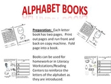 Alphabet Letter Books