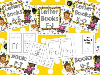 Alphabet Letter Books A-Z Bundle