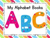 Alphabet Letter Books A-Z BUNDLE: a focus on initial sounds