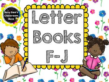 Alphabet Letter Books F-J