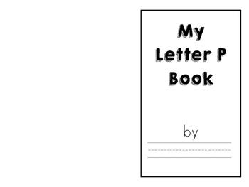 Alphabet Letter Books P-T