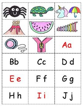 Alphabet Letter Box