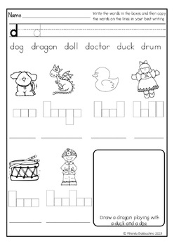 Alphabet Letter Boxes