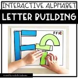Alphabet Letter Building Activities   Preschool, PreK, Kindergarten