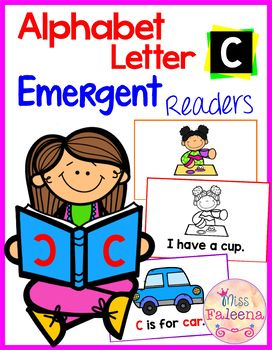 Alphabet Letter C Emergent Readers