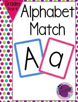 Alphabet Letter Matching Flashcards