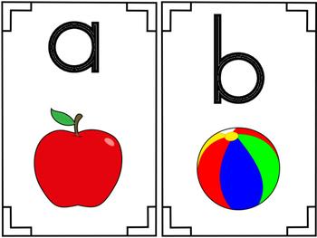 Phonogram Letter Cards Set 1