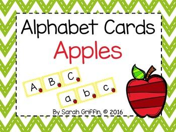 Alphabet Letter Cards ~ Apples