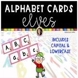 Alphabet Letter Cards ~ Elves ~  Capital and lowercase