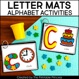 Alphabet Letter Cards: For Mini Erasers or Play Dough