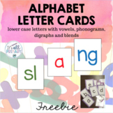 Alphabet Letter Cards - Lowercase