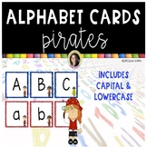 Pirate Alphabet Letter Cards - Flashcards