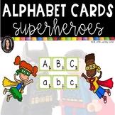 Alphabet Letter Cards ~ Superhero