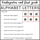 Alphabet Letter Cards : Word Work